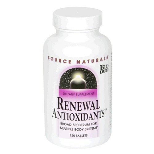 Source Naturals Renewal Antioxidants, 120 Tablets