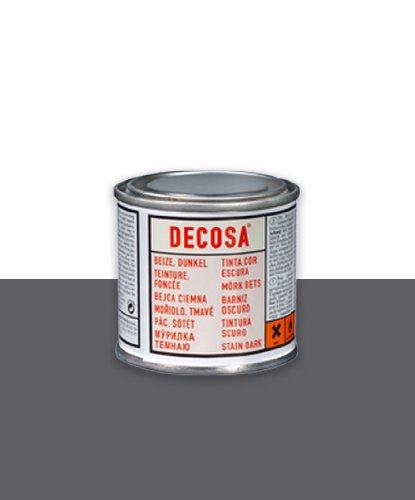 Decosa - Barniz para Vigas 100 Ml Caja de 6 Piezas - Color : Roble Claro