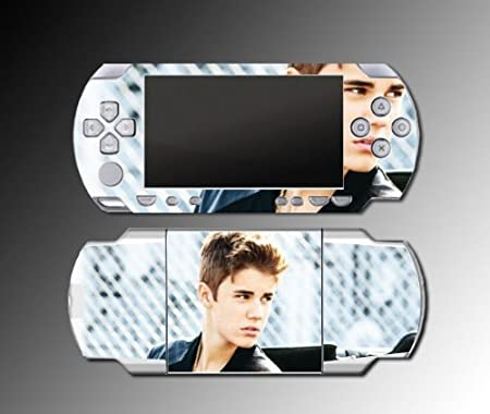 Justin Bieber Boyfriend Mistletoe Game Vinyl Decal Skin Protector Cover 31 Sony PSP Playstation 1000 Playstation Portable