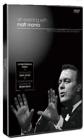 Matt Monro - An Evening With (Numbered Collectors Edition) [DVD]