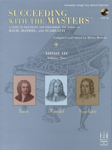 Succeeding with the Masters, Baroque Era, Volume 2