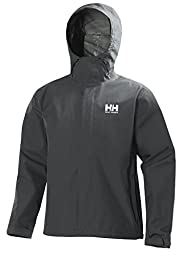 Helly Hansen Men\'s Seven J Jacket, Charcoal, Large