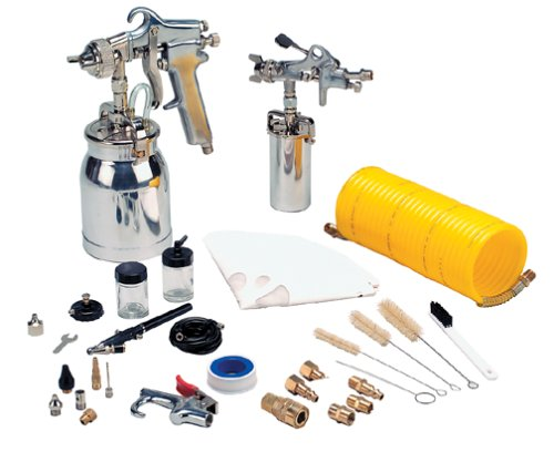 DeVilbiss ESK20 EX-CELL 41-Piece Spray Gun Kit