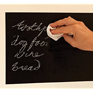 FunToSee Chalkboard Mini Wall Art Decal, Black