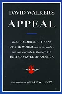 "Cover of ""David Walker's Appeal"""