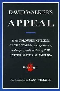 "Cover of ""David Walker's Appeal"""