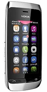 Nokia Asha 310  White  available at Amazon for Rs.5490