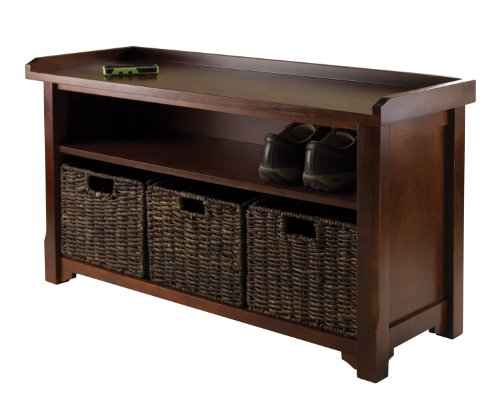 4-piece-solid-composite-wood-storage-bench-with-3-foldable-baskets-espresso-finish-40l-x-142w-x-22h-