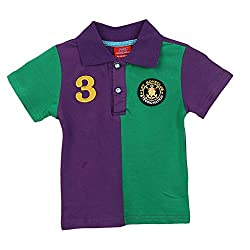 Lilliput Baby Boys T-Shirts (8907264054782_Purple_12-18 Months)