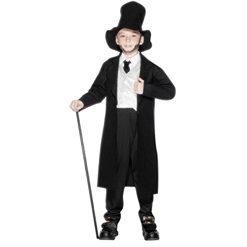 Childs Lincoln Halloween Costume (Size: Small 3-5)
