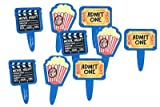 12 pc Movie Night Cupcake Picks