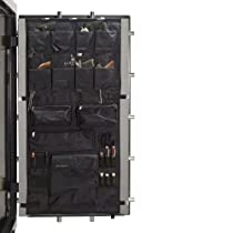 Liberty Door Panel - Fits Gun Safe Models 30-35-40 - Accessory and Organizer for Pistols, Handguns, Ammunition, Magazines, Choke Tubes and Other Security Products - Item 10586 - Black