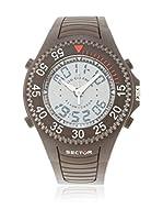 Sector Reloj de cuarzo Man Dual Time Street Fashion 44 mm