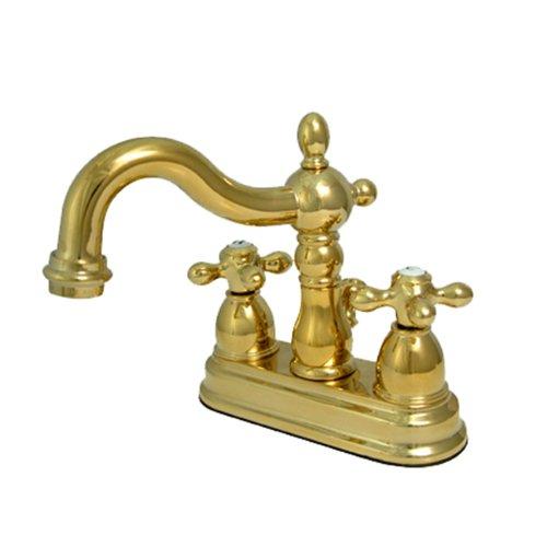 Reviews Kingston Brass Ks1602ax Lavatory Faucet Polished Brass Charlottejohnsonnncq