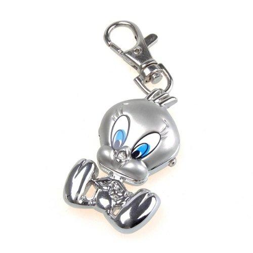 Bestdealusa Alloy Duck Key Ring Watch Pocket Quzrtz Watch