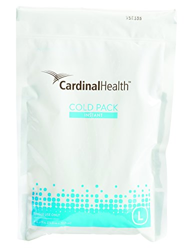 Cardinal Health 11440-900 Instant Cold Pack, Disposable, 6 x 9 in., Large, Pack of 16 (Health Pack compare prices)