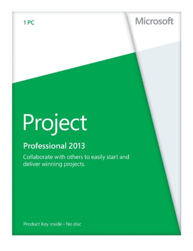 Microsoft Project 2013 Professional Vollversion deutsch 1PC (ohne Datenträger) [License] Windows, PC