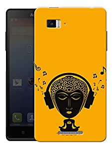 "Tripping Buddha - Buddhist God Printed Designer Mobile Back Cover For ""Lenovo Vibe P1"" By Humor Gang (3D, Matte Finish, Premium Quality, Protective Snap On Slim Hard Phone Case, Multi Color)"