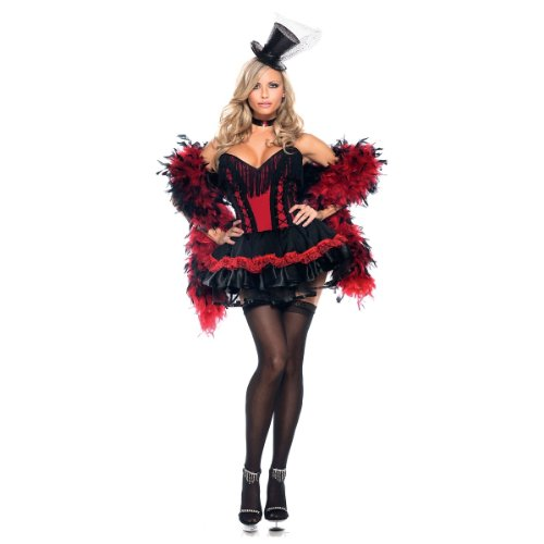 Speak Easy Saloon Girl Costume - Plus Size 1X/2X - Dress Size 18-22