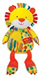 Kids Preferred Label Loveys Plush Toy, Cute as a Button Lion