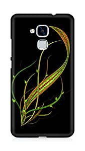 Amez designer printed 3d premium high quality back case cover for Huawei Honor 5C (Abstract Dark 3)