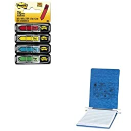 KITACC54052MMM684SH - Value Kit - Acco Pressboard Hanging Data Binder (ACC54052) and Post-it Arrow Message 1/2amp;quot; Flags (MMM684SH)