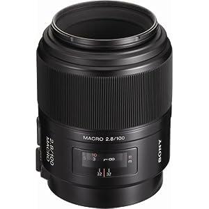 Sony 100mm f/2.8 AF Macro Autofocus Lens