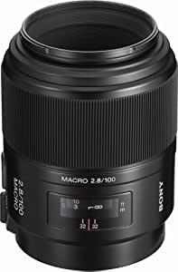 Sony 100mm f/2.8 Macro Lens for Sony Alpha Digital SLR Camera