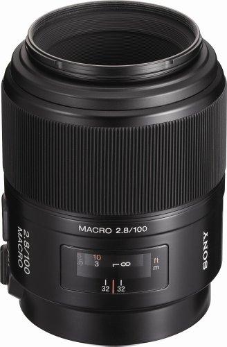 Sony 100mm f/2.8 Macro Lens for Sony Alpha Digital SLR Camera