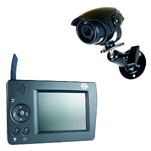 elro cs35s wireless surveillance system remote camera. Black Bedroom Furniture Sets. Home Design Ideas