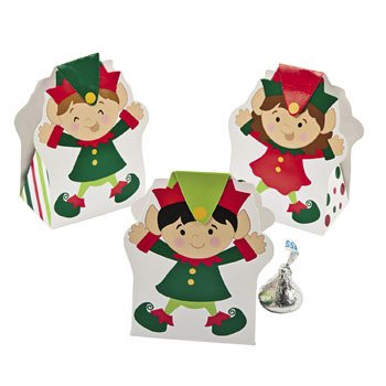 Christmas Elf Favor Boxes