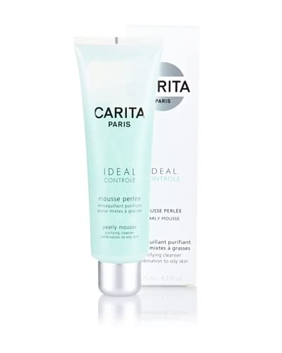 CARITA Ideal Controle Mousse Perlée (Desmaquillante Purificante Para Pieles Mixtas Y Grasas) 125 ml