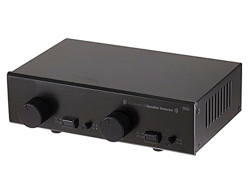 Monoprice 108231 2-Channel A/B Speaker Selector With Volume Control