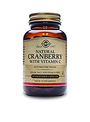 Solgar Natural Cranberry Extract Vegetable Capsules - 60 Vegicaps from Solgar