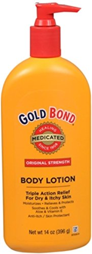 Gold Bond Medicated Body Lotion, 14-Ounce Pumps (Pack of 3)
