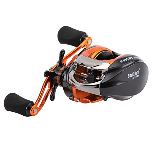 SeaKnight OS1200 Baitcasting Fishing Reel Super Light 6.5Ozs Anti-Corrosive 14BB Baitcasting Reel (Steel Leader Ice Fishing Gear compare prices)