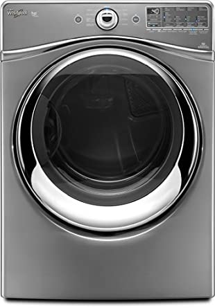 Whirlpool WGD96HEAU Duet 7.4 Cu. Ft. Stainless Look Stackable With Steam Cycle Gas Front Load Dryer