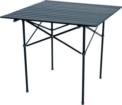 Slumberjack Stowaway Camp Table (Black)