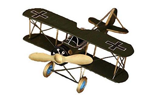 Retro Tin Model Plane Decoration Room Decoration--Green
