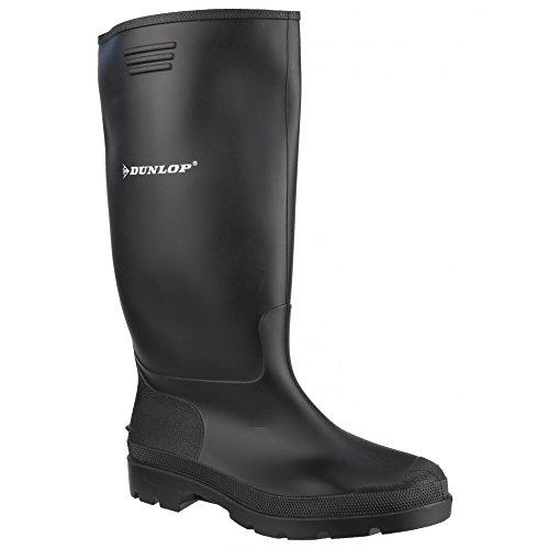 Dunlop-380PP-Pricemaster-Unisex-Gummistiefel-43-EUR-Schwarz