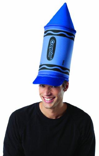 Rasta Imposta Crayola Crayon Hat, Blue, One Size