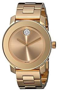 Movado Women's 3600104 Bold Analog Display Swiss Quartz Gold Watch by Movado