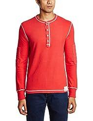 Gant Men's Band Collar Cotton T-Shirt - B00OE1DQOI