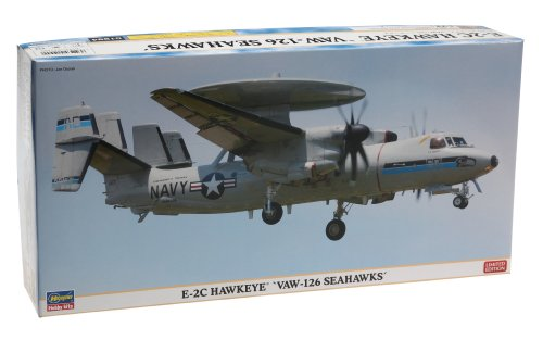 Hasegawa 1:72 E2C Hawkeye VAW-126 Seahawks