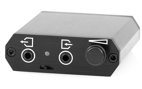 Meier Audio Corda Pcstep Usb-Dac Portable Headphone Amplifier Black