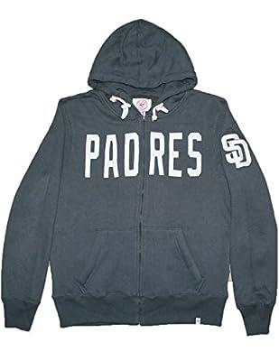MLB SAN DIEGO PADRES Mens Athletic Zip-Up Warm Hoodie / Jacket