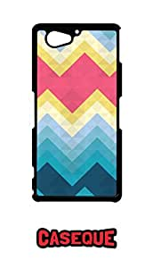 Caseque Calm Aztec Back Shell Case Cover for Sony Xperia Z2 Compact
