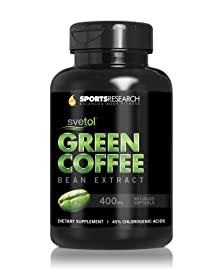 buy Svetol Green Coffee Bean Extract, 90 Liquid Softgels With 400Mg Of Clinically-Proven Svetol Per Cap