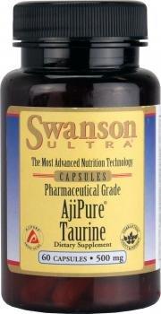 swanson-ultra-ajipure-taurine-500mg-60-capsules