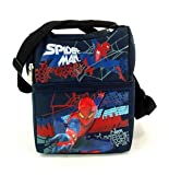Back to School Saving - Marvel Spiderman Double Compartment Lunch Tote Bag and Disney Mickey Bifold Wallet Set